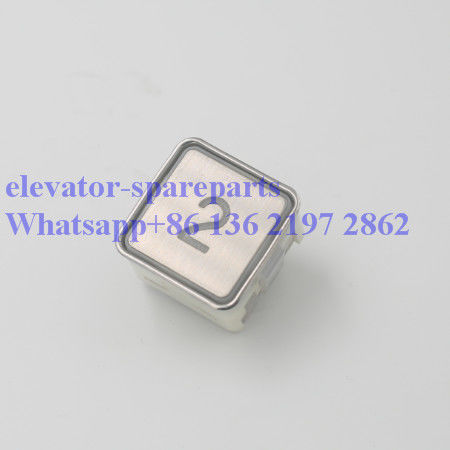 Precision AN270 Elevator Push Button , DC 24V SS Elevator Replacement Parts
