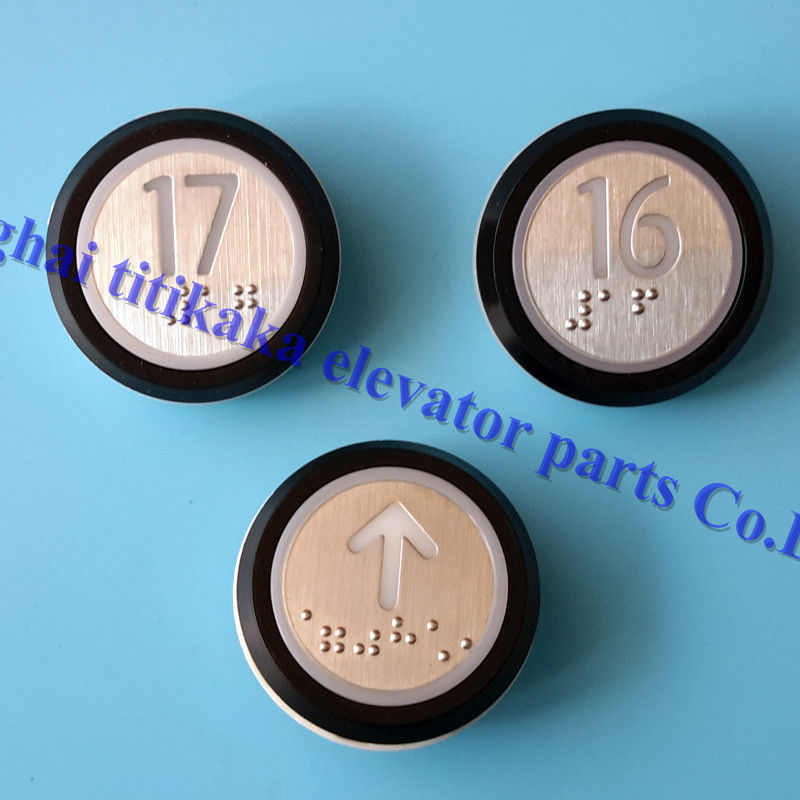 DC 24V KONE Elevator Push Button A4J16467 A4J16465A2 With Braille